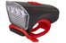 Cube LTD Frontscheinwerfer white LED black'n'red